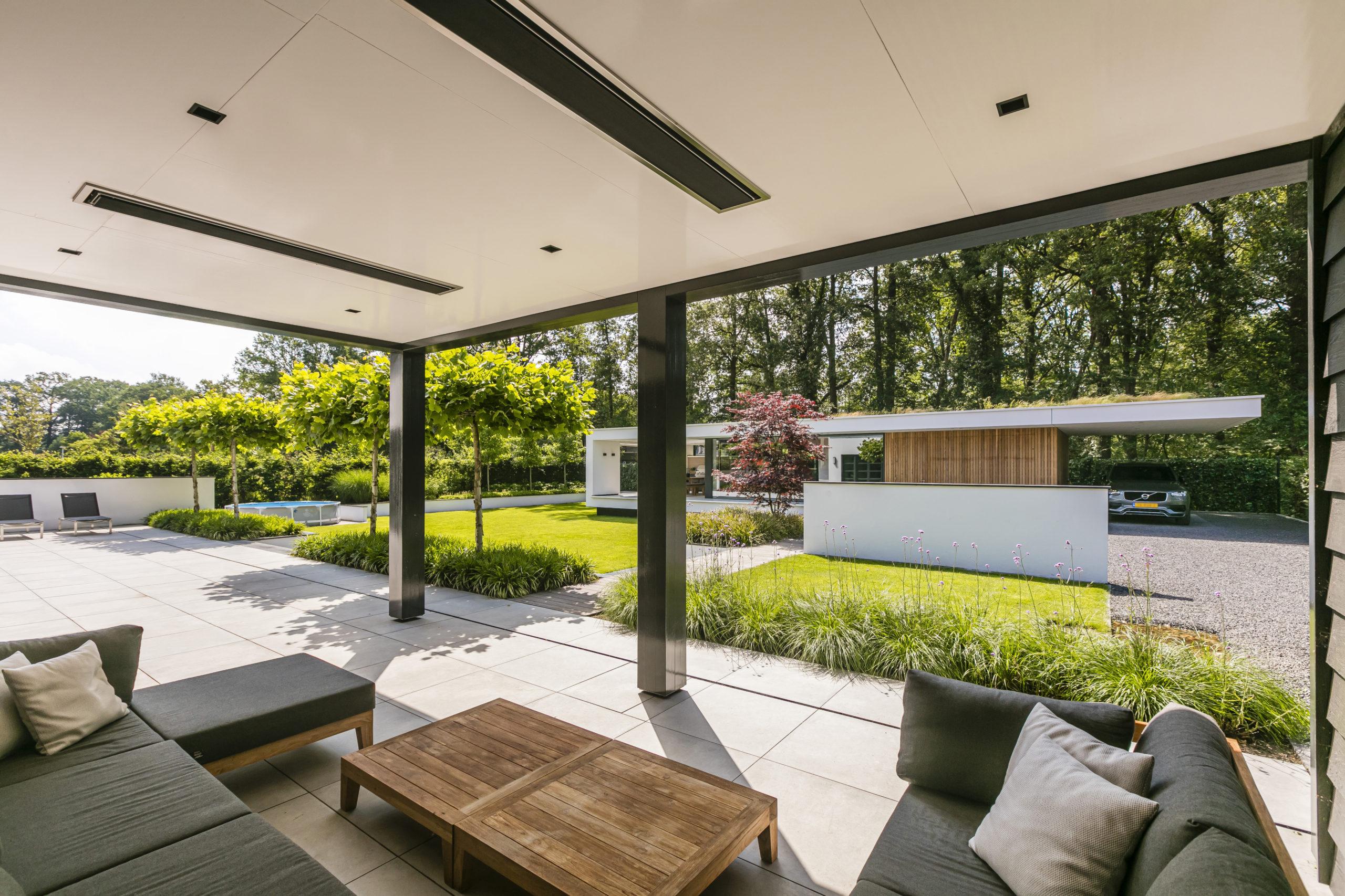Villa te Hengelo - veranda - Lichtenberg Exclusieve Villabouw