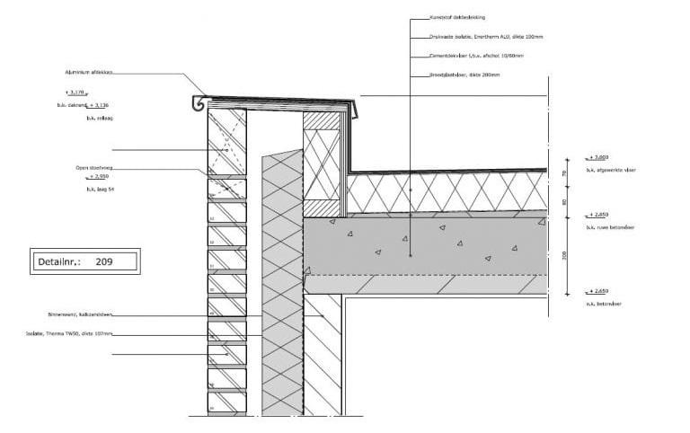 Stap 6. Bouwvoorbereiding - detailtekening